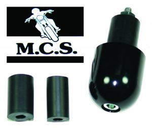 HANDLEBAR ENDS SUIT MB8 MIRROR