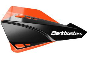 SABRE HANDGUARD - MX/ENDURO BLACK WITH ORANGE