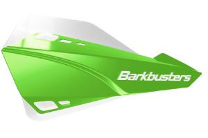 SABRE HANDGUARD - MX/ENDURO GREEN WITH WHITE