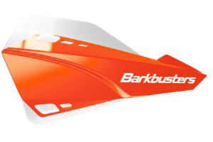 SABRE HANDGUARD - MX/ENDURO ORANGE WITH WHITE