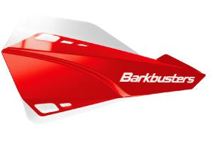 SABRE HANDGUARD - MX/ENDURO RED WITH WHITE