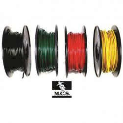 ELECTRICAL WIRE BLACK 3mm x 30m