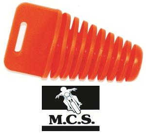 EXHAUST PLUG 4 STROKE - ORANGE