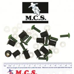 FAIR SCREEN SCREW/NUT KIT GRN-10***