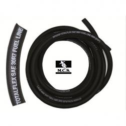 FUEL LINE 1/4(6mm) x 5m REINF BLK