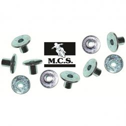 COLLAR F/SCREW 6mm x 22mm x12mm(10)