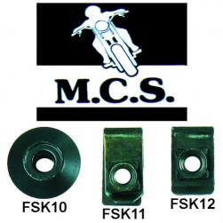 FAIRING SCREW SLIDE NUT 6mm