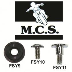 FAIRING SCREW R1,R6 6 x 18mm PK-10