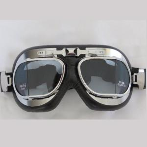 RED BARON GOGGLE II CHROME/CLEAR