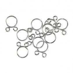 FUEL HOSE CLAMP WIRE 8mm 10 -BAG