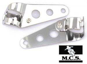 HEADLIGHT BRACKETS UNI CHROME