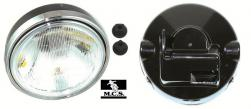 HEADLIGHT COMPLETE RD/LC ROUND