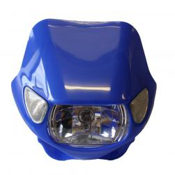 HEADLIGHT ENDURO BLUE WITH INDS