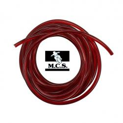 HIGH-TENSION CABLE RED, 5MT ( 7mm)