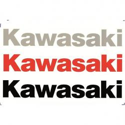 STICKER KAW LARGE RED 240mm PK-10**