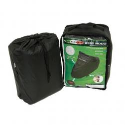 BIKE COVER LINED & WATERPROOF BLACK LG