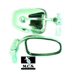 MIRROR BAR END CHROME