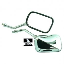 MIRROR RECT CRUISER CHROME L/H