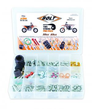 BOLT KIT PRO PACK EURO 50/65cc  (12)
