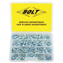 BOLT KIT WORKSHOP FLANGE ASSORTED
