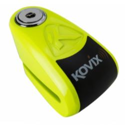 LOCK DISC KOVIX ALARM FLURO GREEN