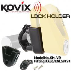LOCK DISC HOLDER HANDLEBAR
