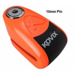 LOCK DISC KOVIX ALARM 10MM ORANGE
