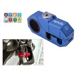 LOCK BRAKE LEVER ALARM KOVIX BLUE