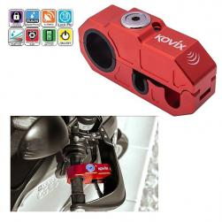 LOCK BRAKE LEVER ALARM KOVIX RED