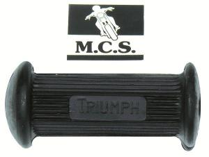 FOOTPEGS RUBBER TRIUMPH 650 - PAIR