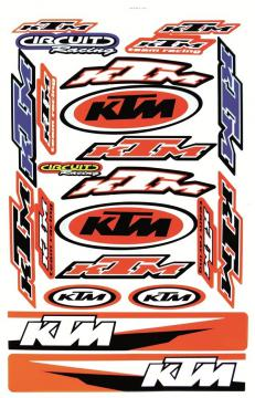 STICKER KIT LARGE KTM