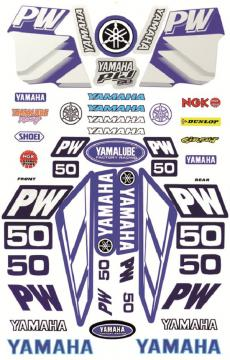 STICKER KIT LARGE PW50