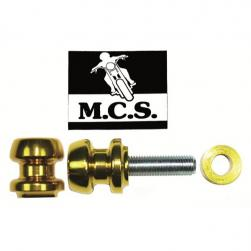 STAND PICKUP KNOBS KAW ZX6 10x40/50mm GOLD