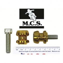 STAND PICKUP KNOBS KAW ZX9 10x40mm GOLD