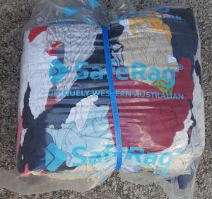 SAFETY RAG BAGS 10KG