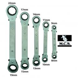 TOOLS SPANNER RATCHET RING 5pce