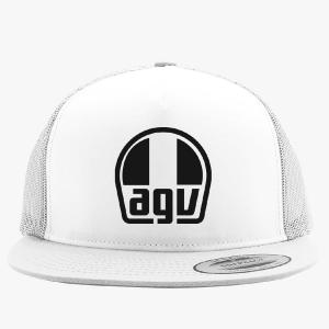CAP AGV TRUCKER WHITE