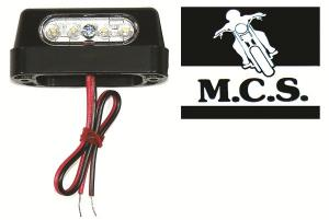 NUMBER PLATE LIGHT LED COMPACT