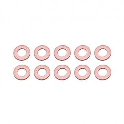 WASHERS COPPER 6x11x1mm (PKT 10)