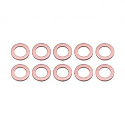 WASHERS COPPER 10.8x16.6x1.5mm (10)